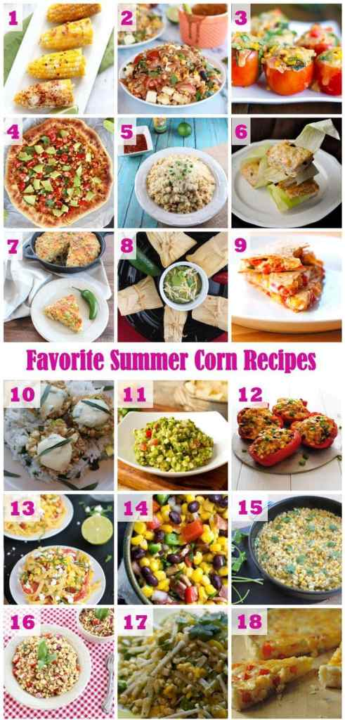 Favorite Corn Recipes