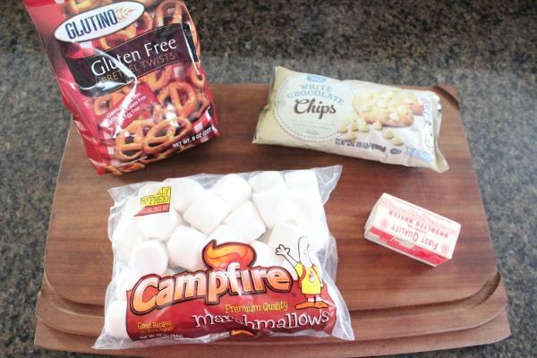 White Chocolate Marshmallow Treat Ingredients