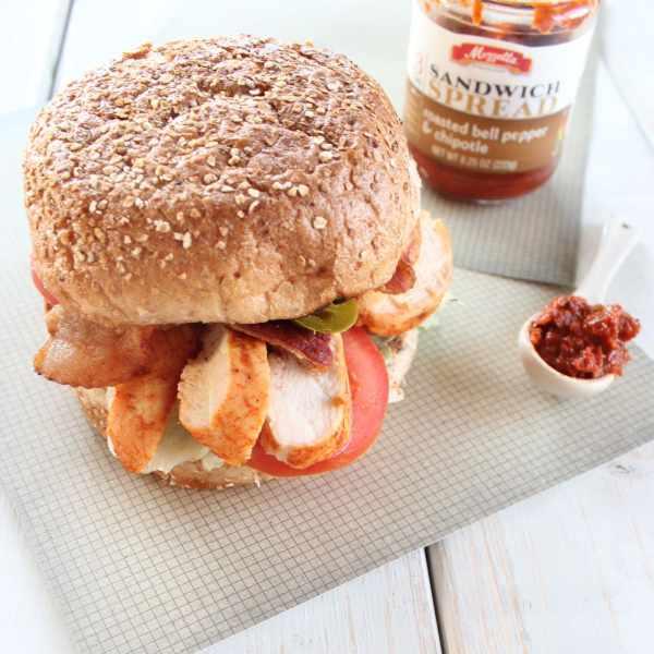 Grilled Chipotle Chicken BLT Sandwich