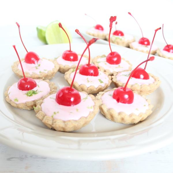 Mini Cherry Limeade Tarts