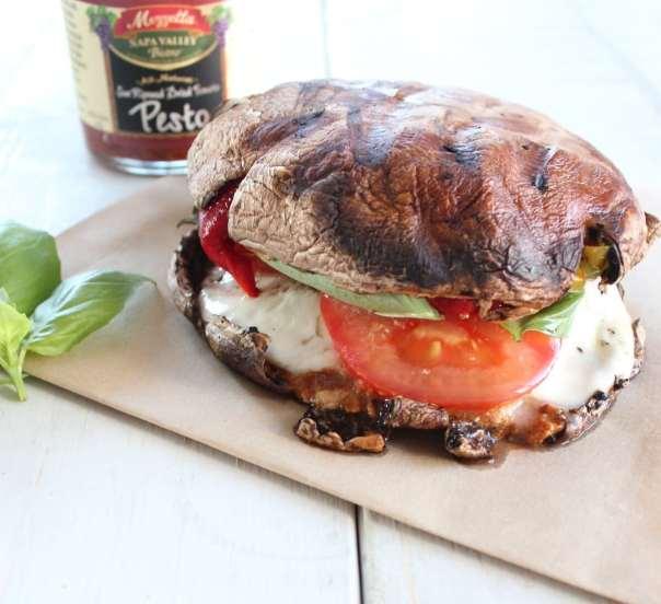 Portobello Caprese Sandwich
