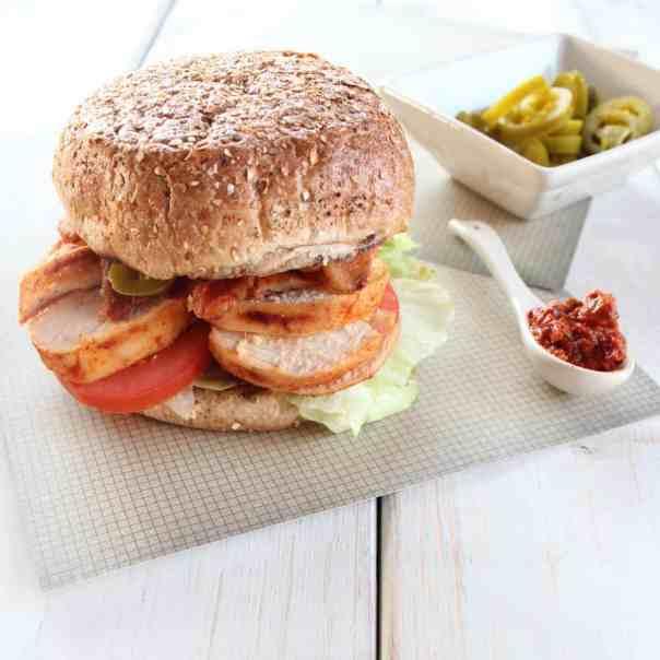 BLT Chipotle Chicken Sandwich