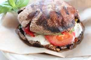 Grilled Vegetarian Caprese Sandwich