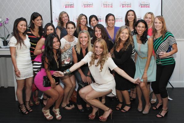 Whitney Bond and girl friends at Little Leopard Book Party