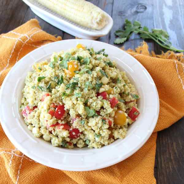 Quinoa Corn Salad Recipe