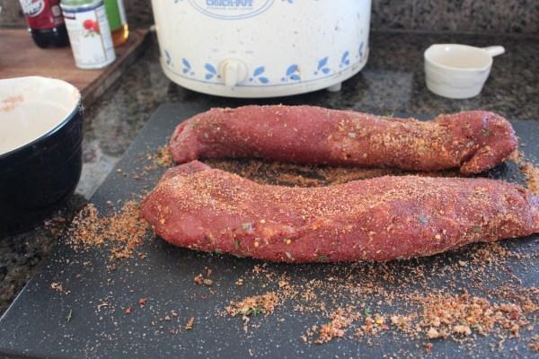 Spice Rubbed Pork Tenderloins