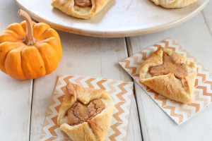 Pumpkin Cream Cheese Filled Crescent Rolls