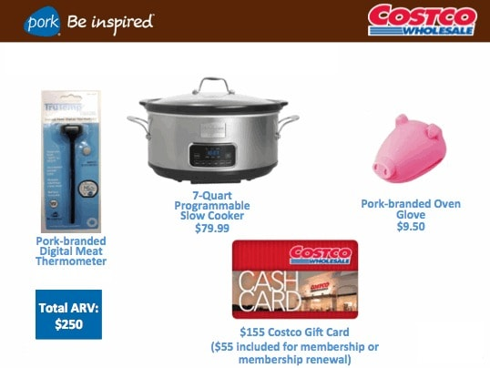 Slow Cooker and Costco Gift Card Giveaway