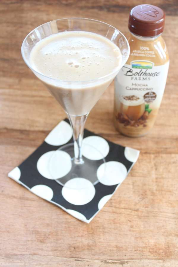 Mocha Cappuccino Vodka Martini