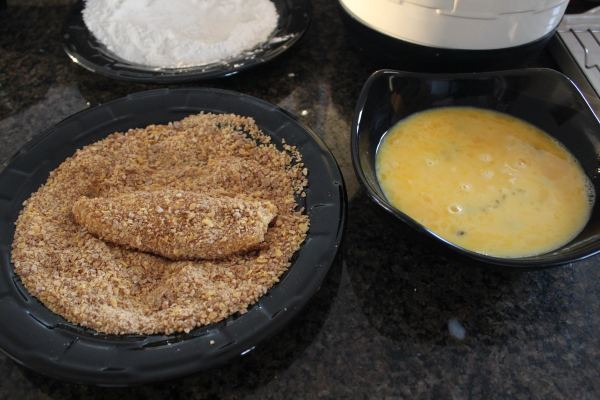 Breaded Oven Baked Chicken Strips Recipe
