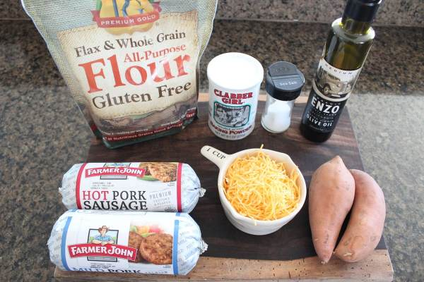 Gluten Free Sausage Ball Ingredients