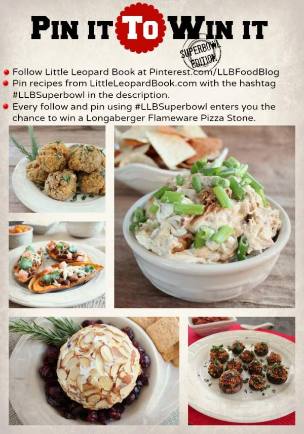 Pin To Win Superbowl Pinterest Contest