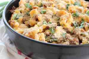 Sausage Jalapeno Macaroni and Cheese
