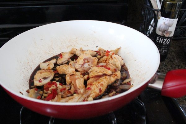 Drunken Noodles with Chicken Recipe