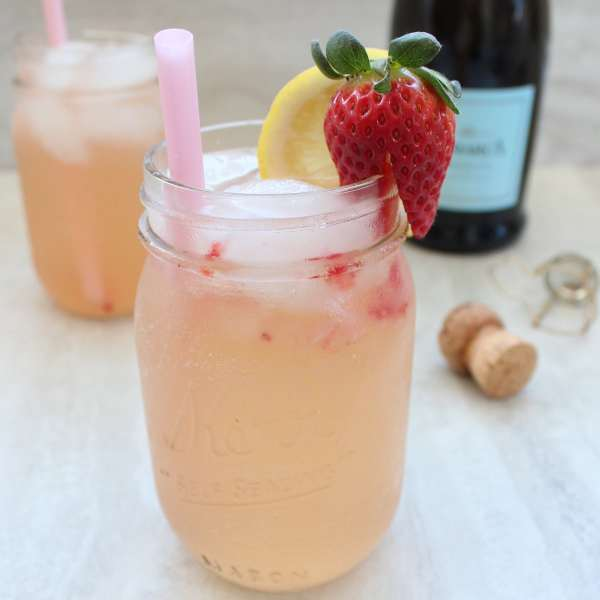 Strawberry Prosecco Sangria