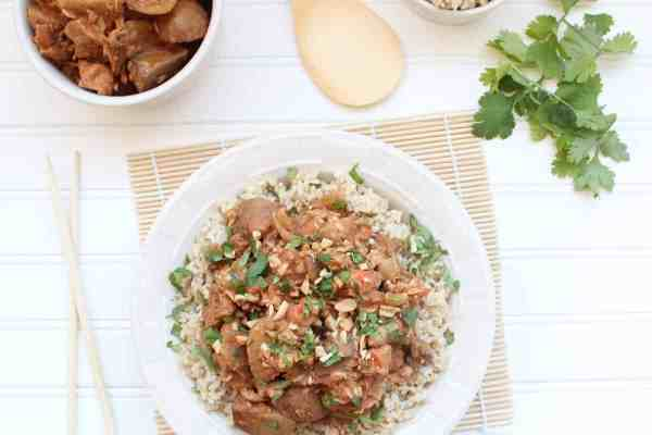 Massaman Curry Crock Pot Chicken