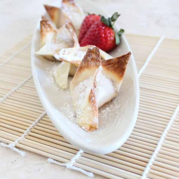 Dessert Wontons