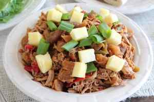 Sweet and Sour Pulled Pork with Pineapple