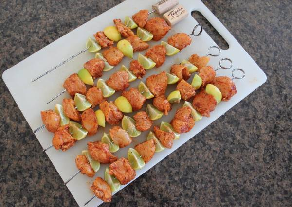 Key Lime Chicken Skewers