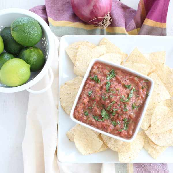 5 Minute Homemade Salsa