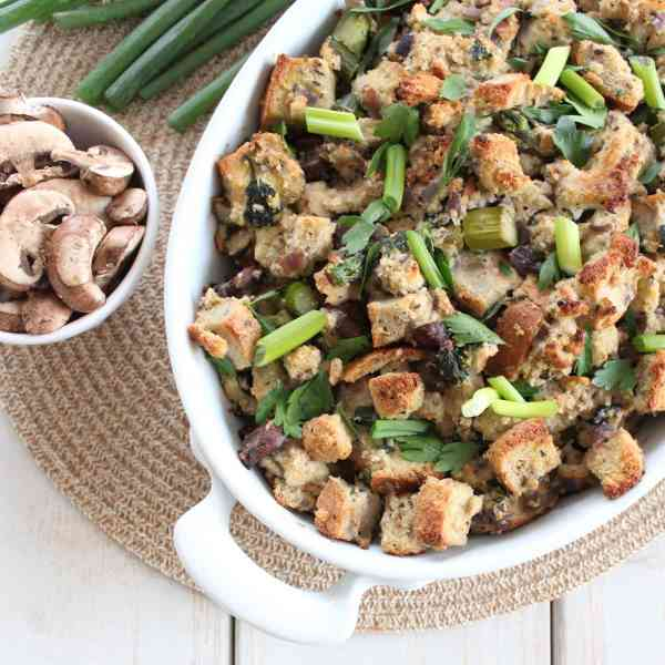Gluten Free Spring Vegetable Stuffing