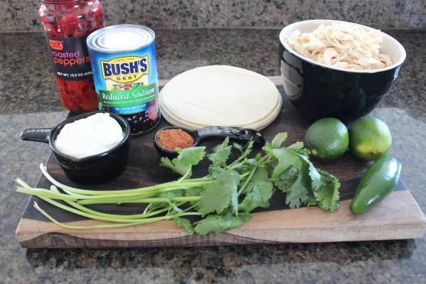 Mexican Chicken Salad Ingredients