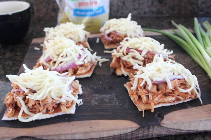 Gluten Free BBQ Chicken Flatbread Recipe