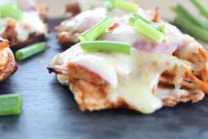 Gluten Free BBQ Chicken Flatbread