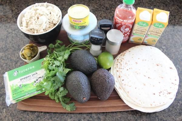 Chicken Enchilada Ingredients