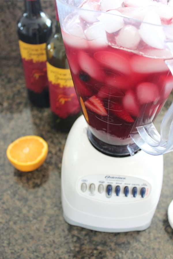 Frozen Sangria Recipe