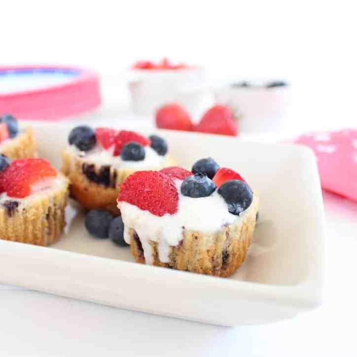 Blueberry Muffin Gluten Free Dessert Cups