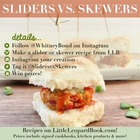 Sliders vs Skewers Instagram Contest
