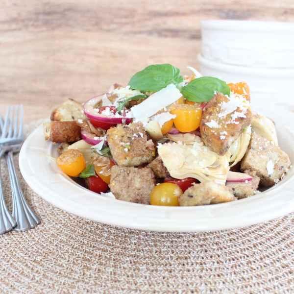 Gluten Free Panzanella Salad