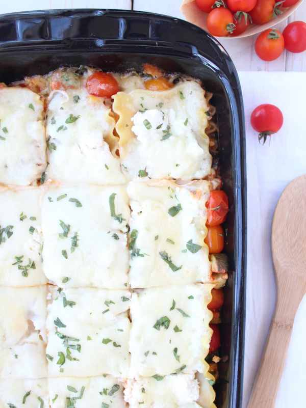 Farmers Market Vegetarian Lasagna