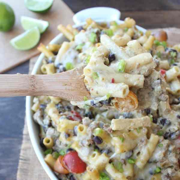 Taco Baked Ziti Recipe