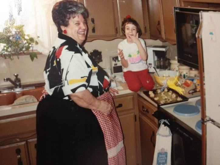 Baking cookies with Grandma Meme