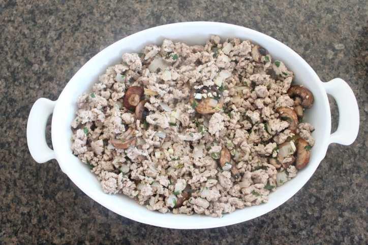 Italian Polenta Turkey Casserole Recipe