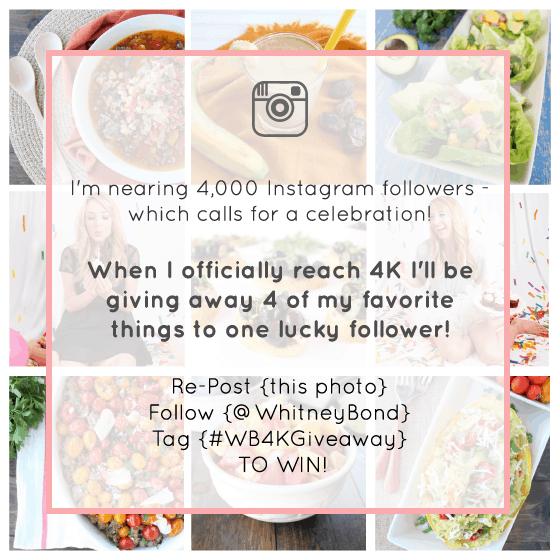 instagram 4k giveaway