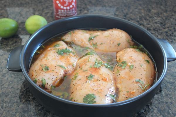 Sriracha Lime Chicken Recipe