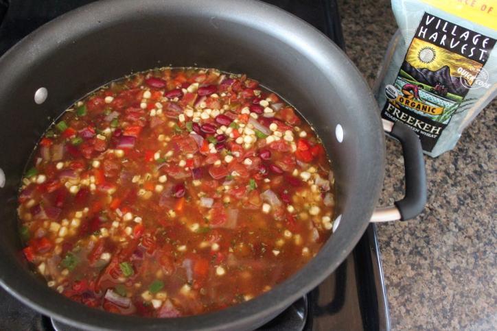 One Pot Mexican Freekeh Recipe