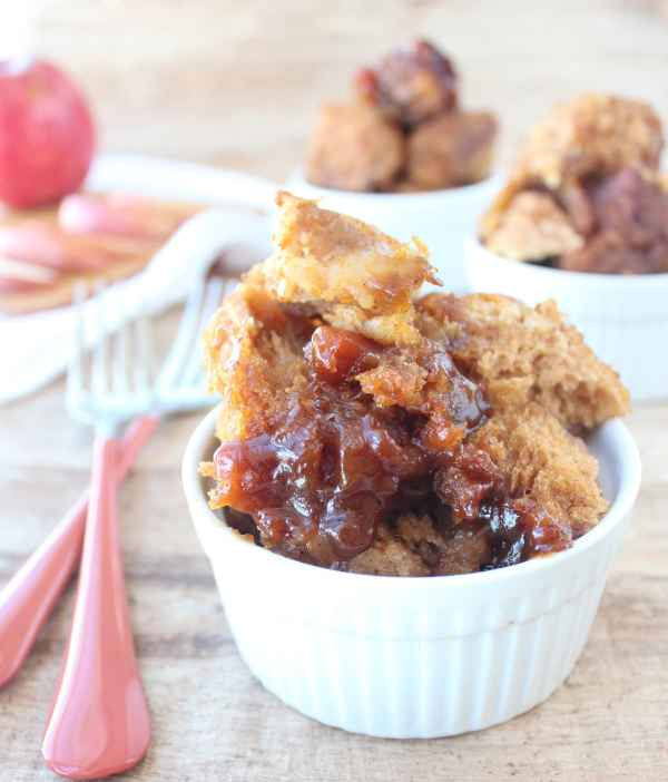 Slow Cooked Apple Pumpkin Monkey Bread