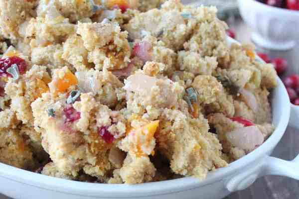 Gluten Free Slow Cooked Cornbread Stuffing