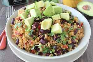 Vegan Mexican Freekeh