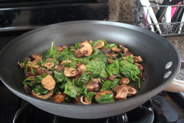 Spinach Mushroom Quiche Recipe