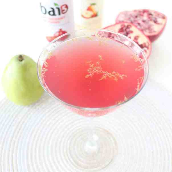 Pear Pomegranate Martini