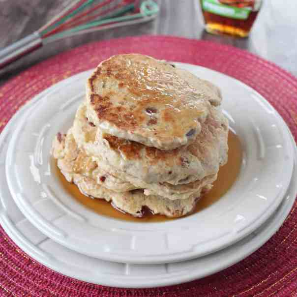 Gluten Free Maple Bacon Pancakes