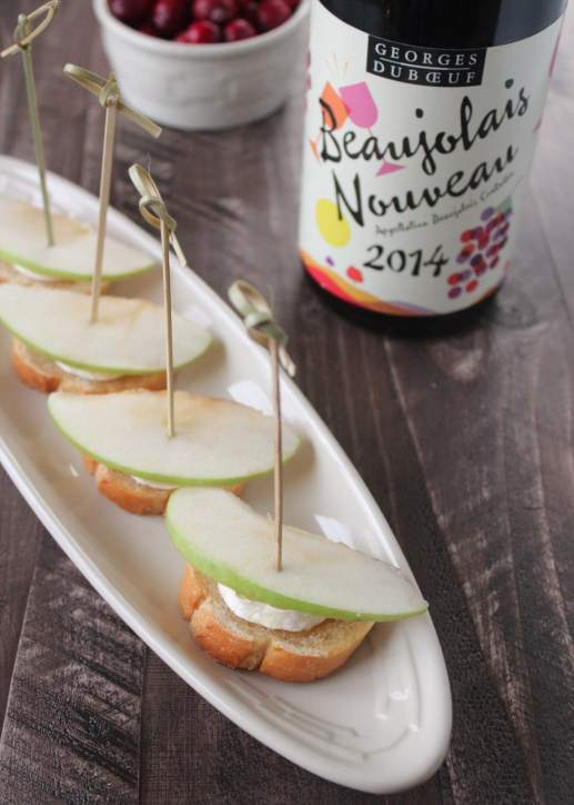 Brie Crostini Appetizer Recipe