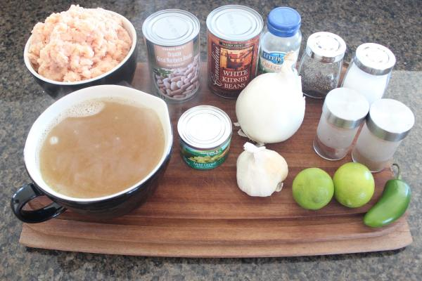 White Chicken Chili Ingredients