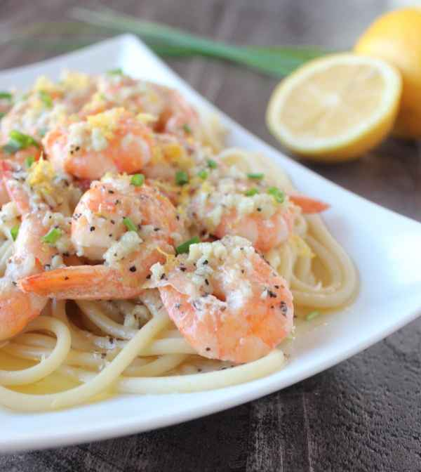 Lemon Garlic Butter Shrimp