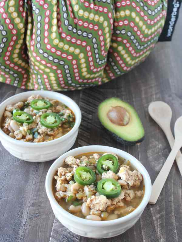 Wonderbag Slow Cooked White Chicken Chili